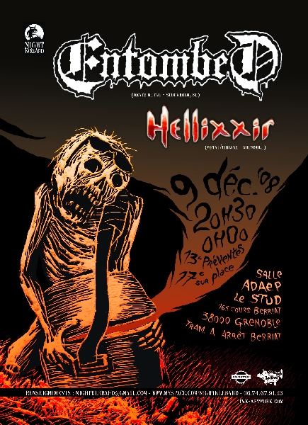 Entombed - Grenoble - ADAEP